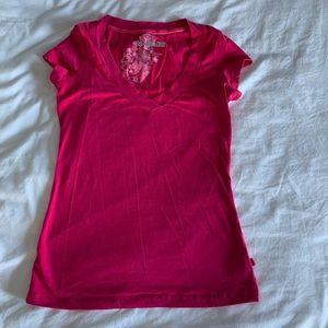 Pink Garage short sleeve shirt